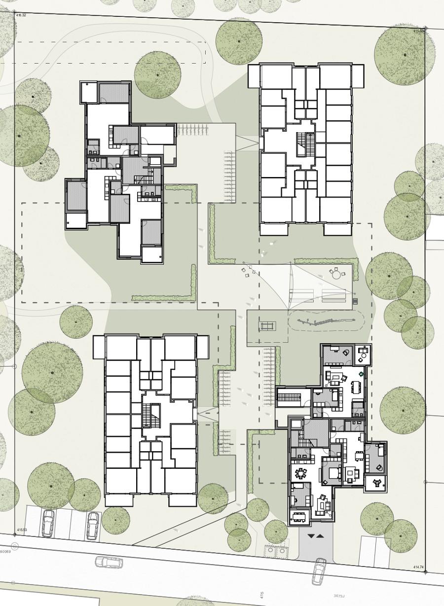 Plan Neubauten Eichfeld II